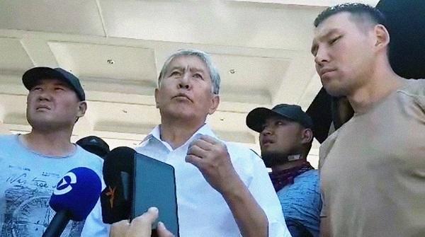 Atambayev: Mən onların da yerinə yataram...