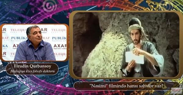 """Şok nüanslar: Nəsimi """"bomj"""" kimi göstərilib - Video"""