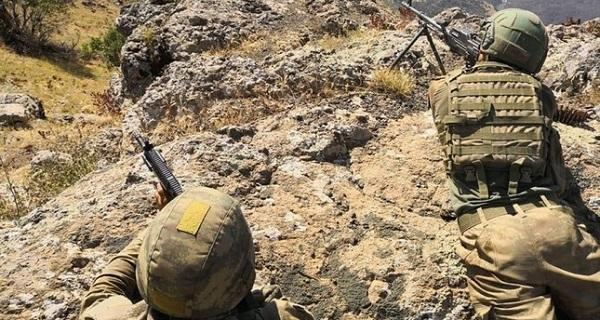 2 PKK terrorists 'neutralized' in eastern Turkey