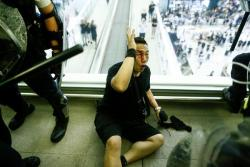 Hong Kong police 'tortured' and beat protesters