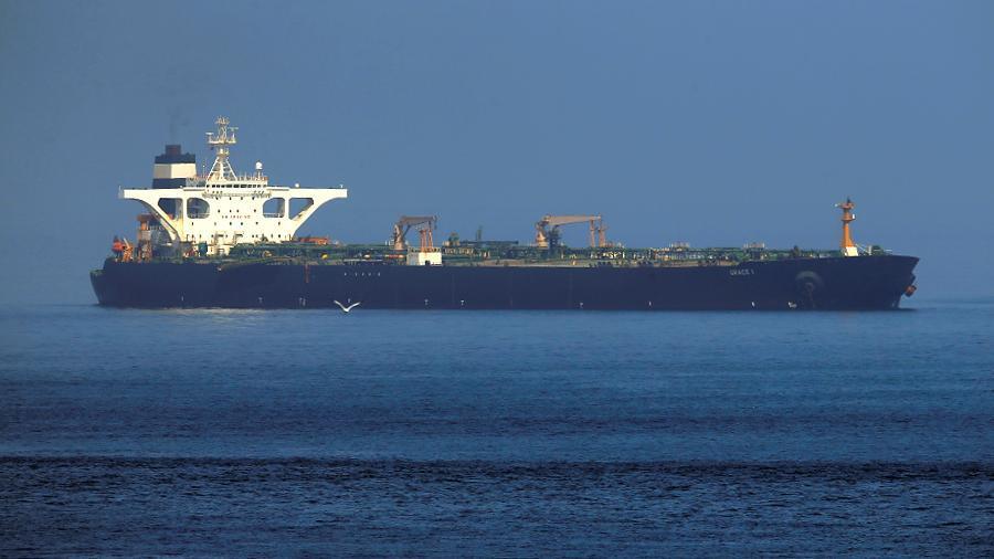 Гибралтар отказался задерживать иранский танкер