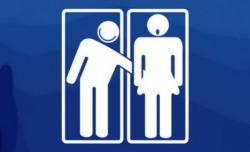 Schoolgirls uncomfortable with 'mixed-gender' toilets