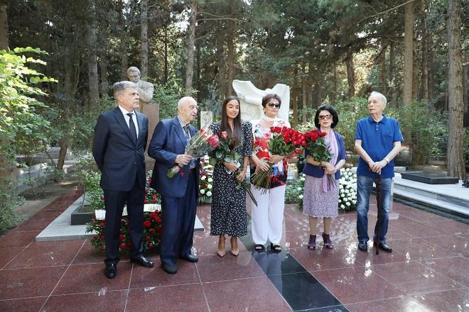 Leyla Əliyeva Maqomayevin anım mərasimində - Foto