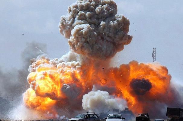 Ливийские ВВС разрушили строящуюся турецкую базу
