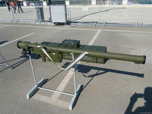 Ordumuzun yeni silahı: Bu məsafədə helikopteri məhv edir
