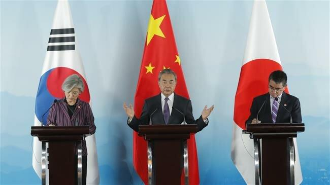 China, Japan, South Korea vow to strengthen ties
