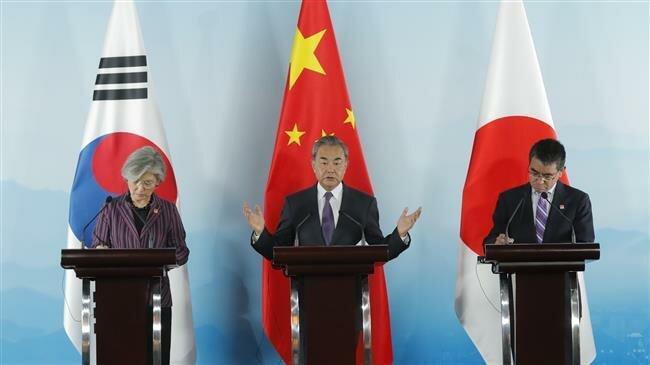 China, Japan, South Korea vow to strengthen ties