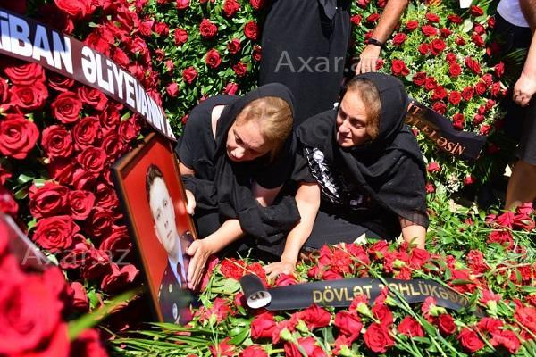 Our martyr was buried -