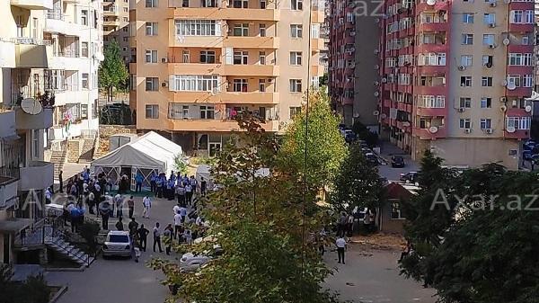 Qəzaya düşən pilotumuzla vida - Foto