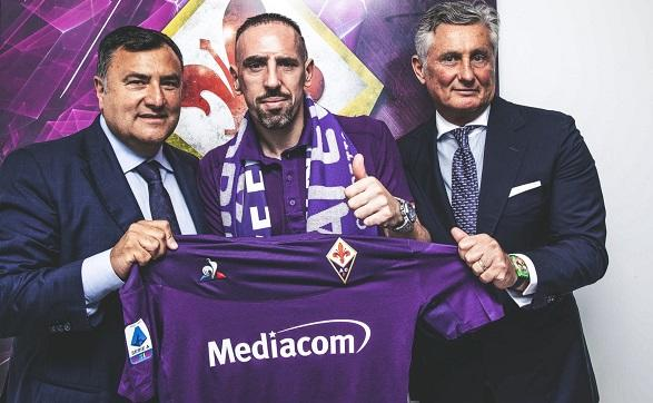 Franck Ribéry joins Fiorentina on a free transfer
