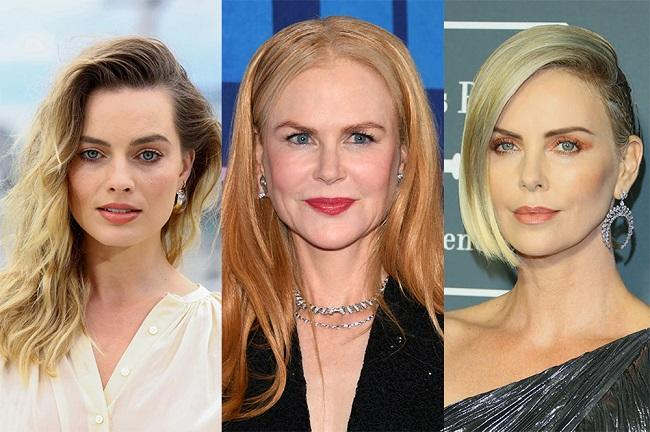 Margot Robbie, Charlize Theron, and Nicole Kidman -