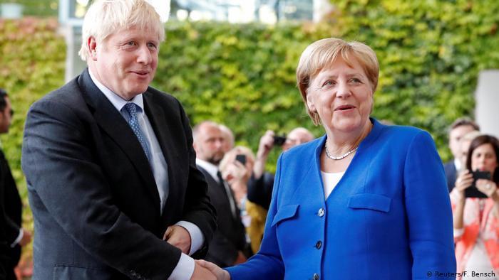 Джонсон обнадежен итогами переговоров с Меркель