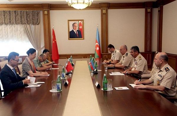Закир Гасанов встретился с новым послом Китая