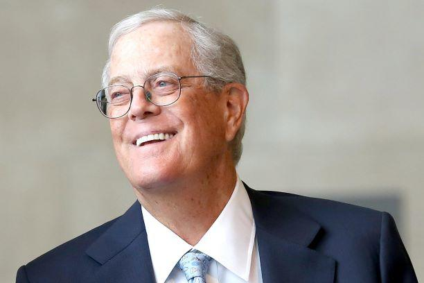 Billionaire and conservative donor David Koch dies at age 79