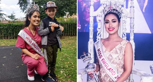 Miss England doctor wants to use beauty...