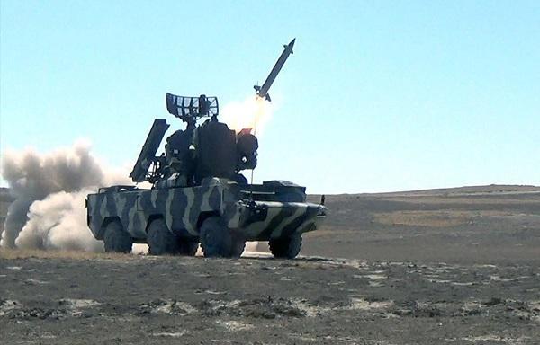 Боевые стрельбы войск ПВО Азербайджана - Видео