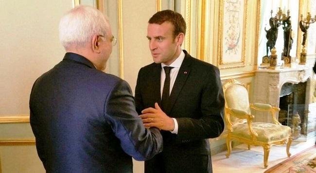 France's Macron to meet Javad Zarif