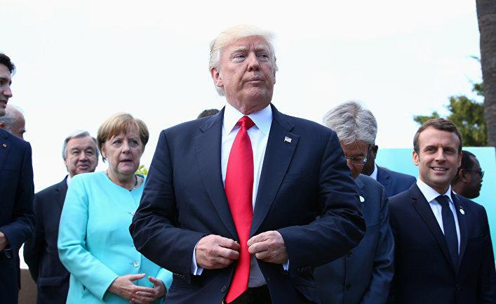 Эксперт: Трамп хочет сделать G7 антикитайским союзом