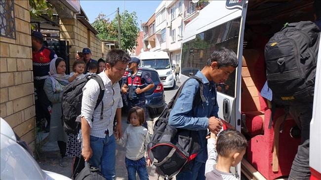 Over 90 irregular migrants held in northwest Turkey