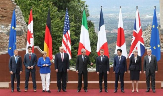 'It's pointless' to show unity with Trump at G7