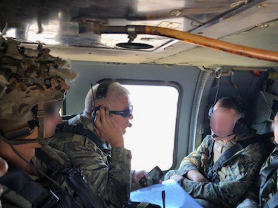 Türkiyə və ABŞ komandanları birgə uçuş həyata keçirdi