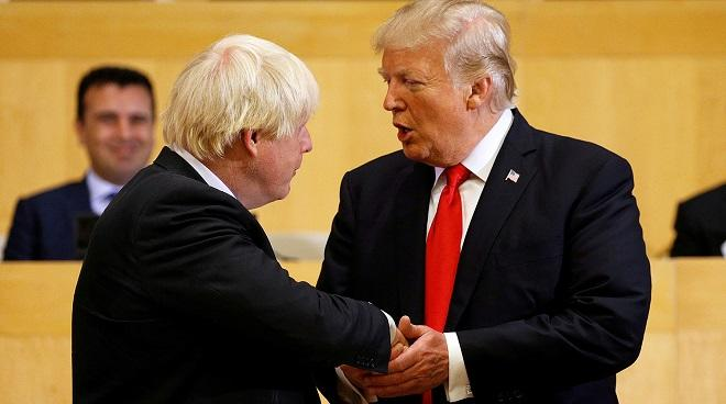 Trump called Johnson - Collaboration