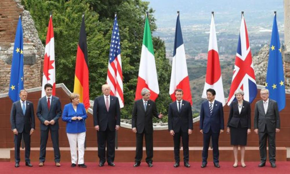 G7 summit was officially launched