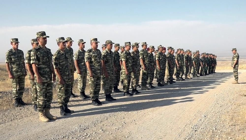 В Нахчыванском гарнизоне начался новый учебный период