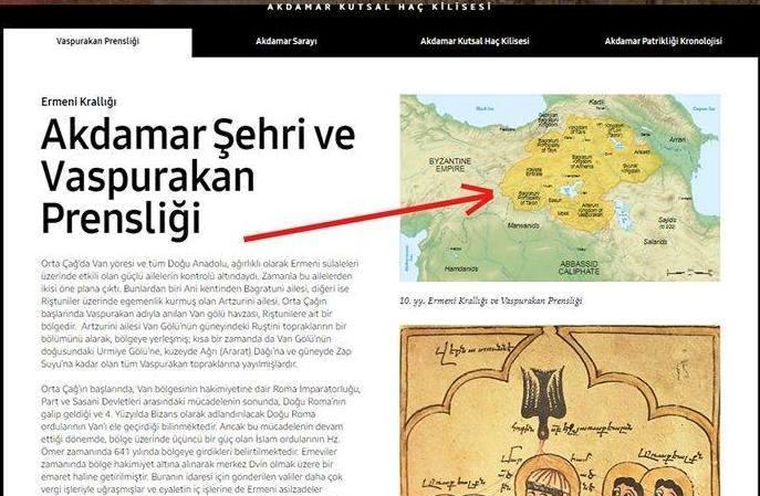 Ermənilərdən Türkiyənin rəsmi saytında Bakıya təxribat – Foto