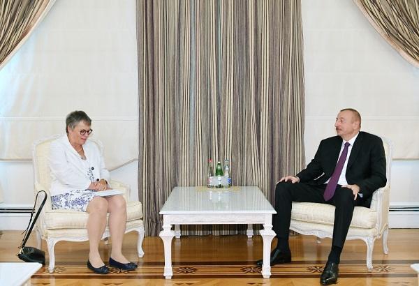 İlham Əliyev AŞPA prezidenti ilə görüşdü