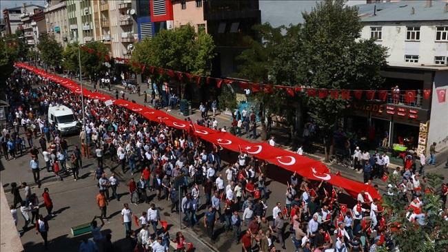 Thousands protest against PKK terror