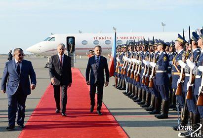Türkiyə vitse-prezidenti Bakıda - Foto