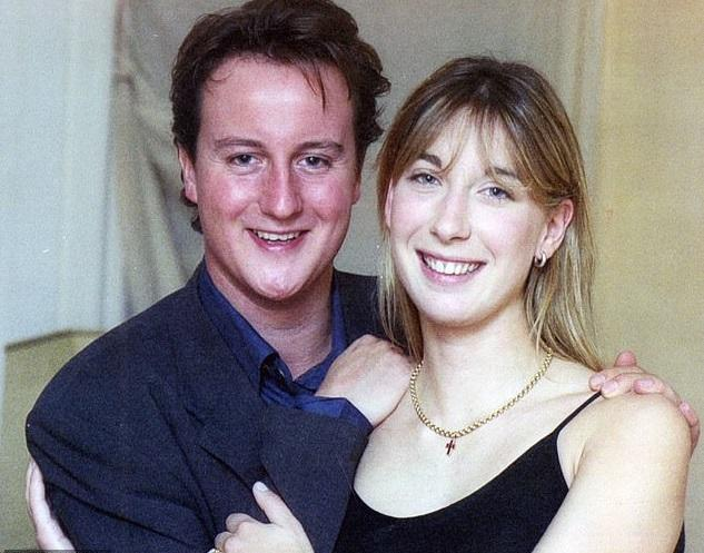 21 years old David Cameron in love -