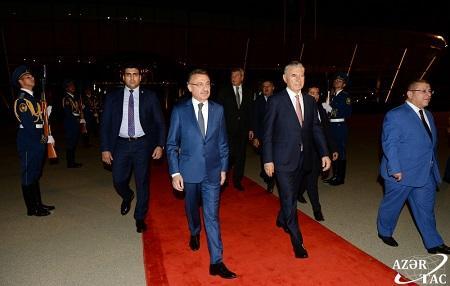 Türkiyə vitse-prezidentinin Bakı səfəri başa çatdı