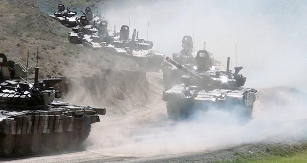 Ordumuzun təlimləri: Cəmləşmə rayonları tutulur – Video