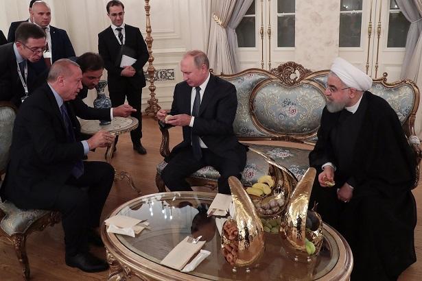 Ərdoğan Putinin dondurmasına əncirlə cavab verdi - Video