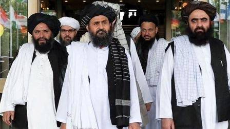 Taliban delegation arrives in Iran for talks