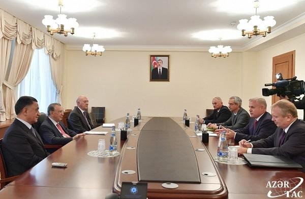 Mehdiyev Usubovla birgə: dövlət katibi ilə görüş - Foto