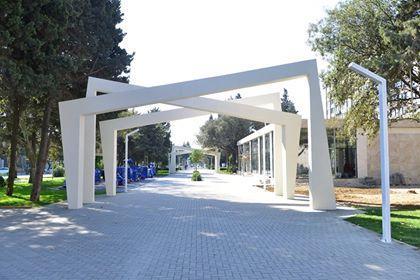 Atatürk parkına attraksionlar gətirildi - Foto