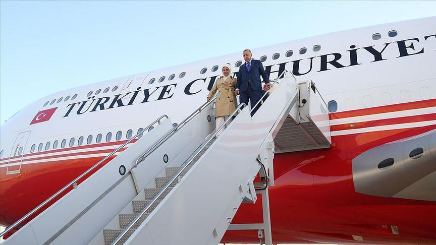 Erdogan in New York to attend UN General Assembly -