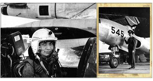 NATO-nun ilk azərbaycanlı qadın pilotu - Foto