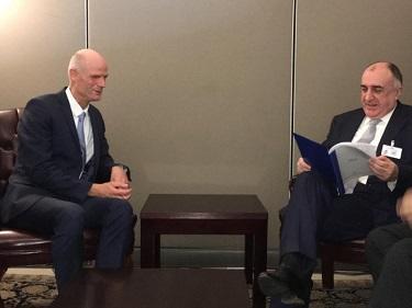 Мамедъяров встретился с главами МИД Аргентины и Нидерландов