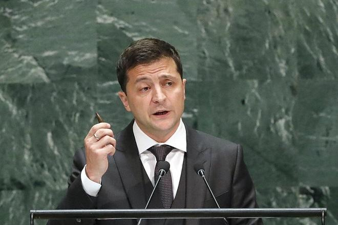 Zelensky: Kyiv staying out of U.S. internal politics, elections