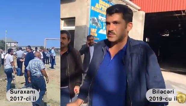 """SOCAR-la dalaşan """"Qarabağ əlili"""" kimdir?"""