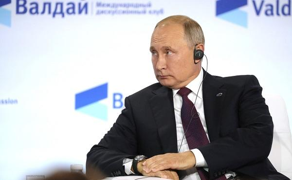 Putin: We are face to face with global risk