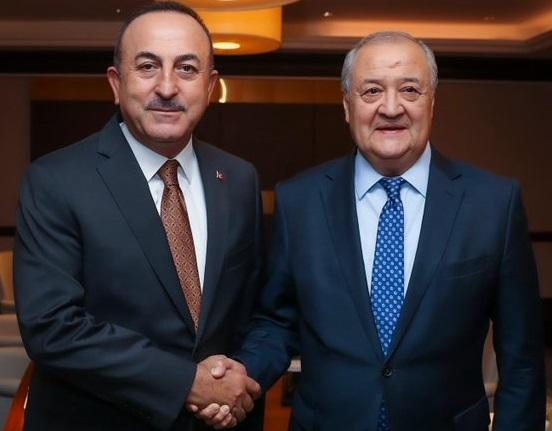 Cavusoglu and Kamilov met in Baku