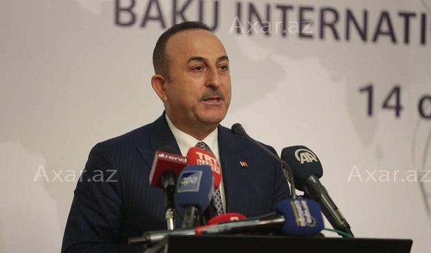 Çavuşoğludan Bakıda bəyanat: Qarabağdan PKK-yadək...