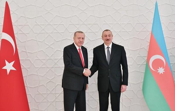 Ilham Aliyev met with Erdogan