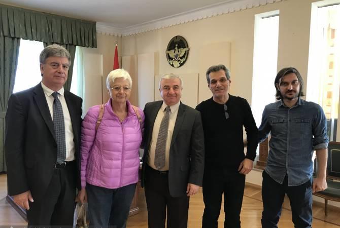 Yunan siyasətçidən Azərbaycana təxribat... - Foto