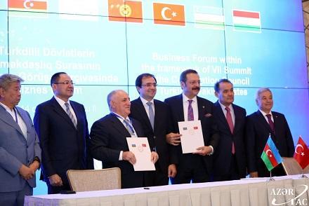 Türk Şurasının VII Zirvə Görüşü: Bakıda biznes forum... - Foto
